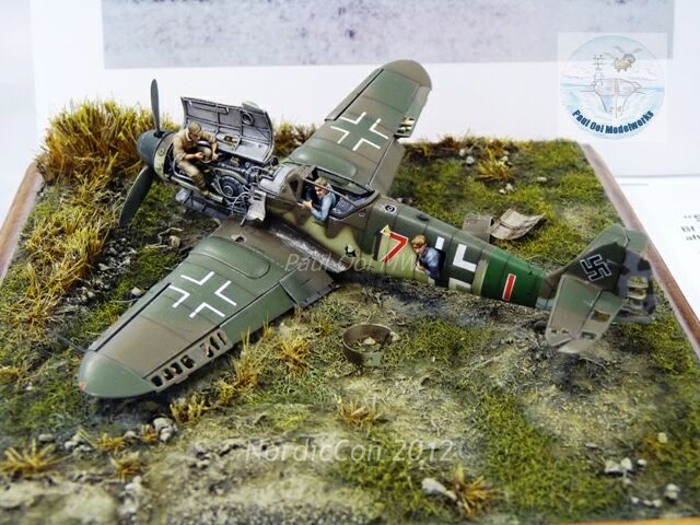 Ideas For Ww2 Airplane Dioramas http://www.paulooimodelworks.com/2012/10/nordiccon-2012-part-1/