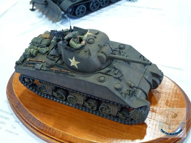 No show is complete without a Sherman M4