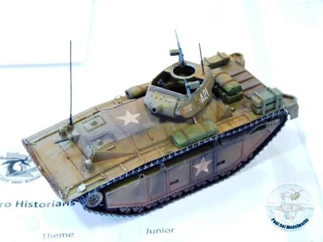 US LVT(A) 5 from the Pacific War