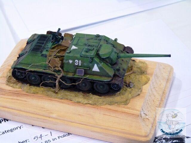 SU 85 Tank Destroyer
