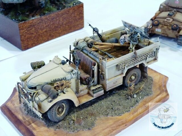 LRDG Chevrolet Truck - always a favorite