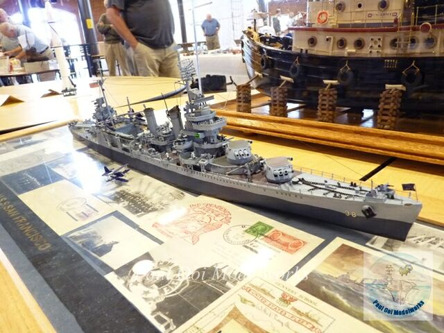 USS San Francisco - paper model!