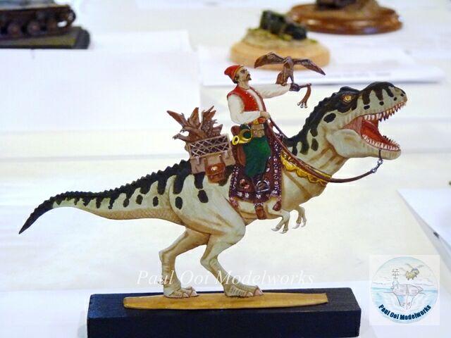 Dino Mail - Flat figure