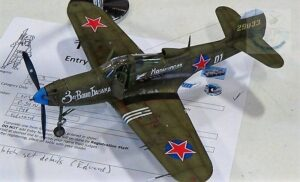 Soviet Lend-Lease P-39 Airacobra