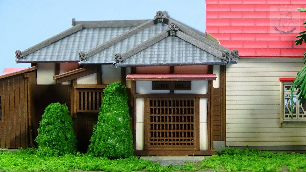 """Before the western style section was added, this traditional Japanese entrance would have been the """"front"""" of the house"""